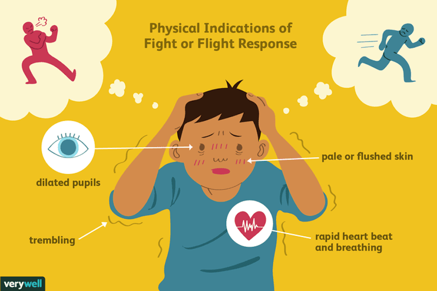 Stage fright and the fight-or-flight response
