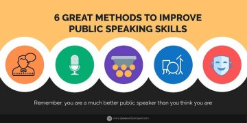 6 great methods to improve public speaking skills